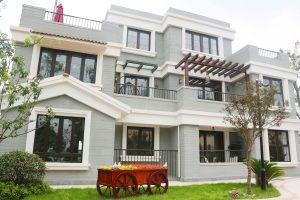 3-storey 3D printed villa by Winsun