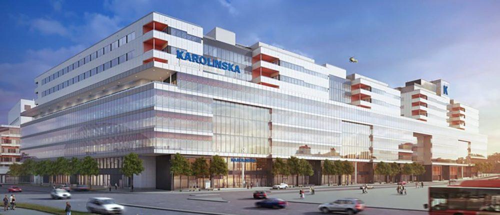 Design Study of New Karolinska Hospital in Sweden