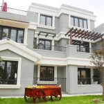 3D printed 3-storey villa developed by Winsun in China
