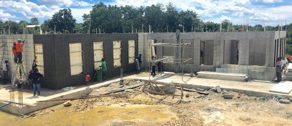 Courthouse Construction using Moladi formwork